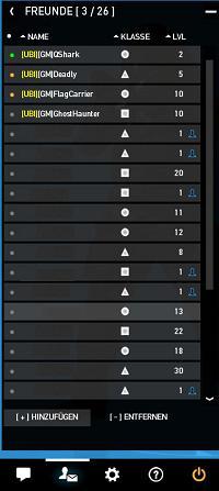 spielernamen liste