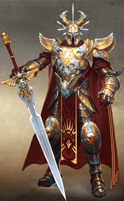 Might and Magic Heroes VI - Haven Male Might
