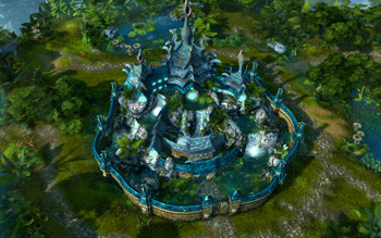 Might and Magic Heroes VI Sanctuary Towns