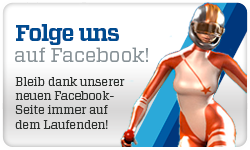 Folge uns auf Facebook. Bleib dank unserer neuen FacebookSeite immer auf dem Laufenden!