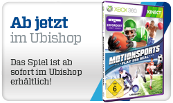 Motionsports Ab jetzt im Ubishop, Das Spiel ist ab sofort im Ubishop erhltlich!