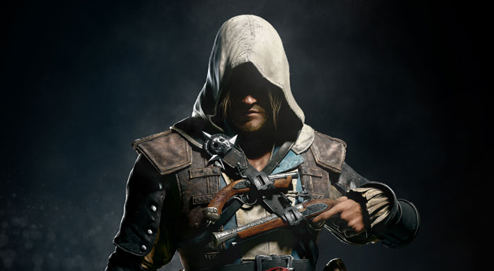 Meet Captain Edward Kenway, the charismatic yet brutal pirate captain in Assassin's Creed 4 Black Flag.