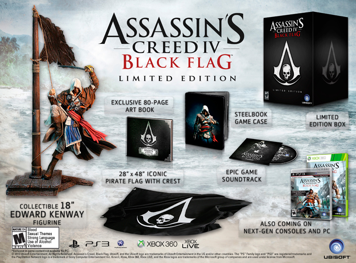 Assassin's Creed 4 Black Flag – Limited Edition Plunder
