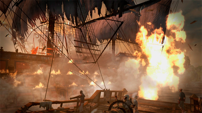 Assassin's Creed 4 Black Flag – Naval Sizzle Trailer