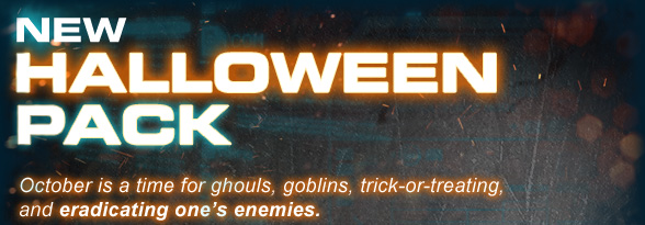 New Halloween Pack!