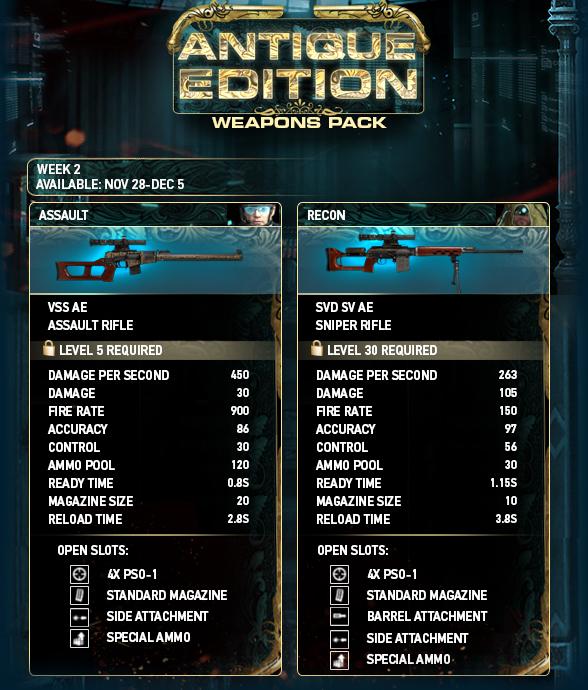 20127311 - Antique Weapons Week 2