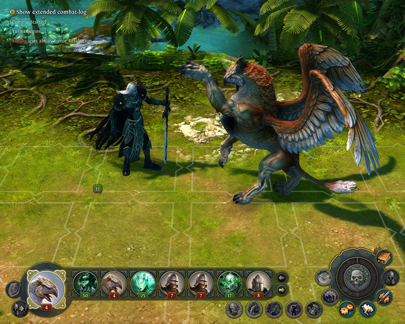Might and Magic Heroes VI - Griffin in game