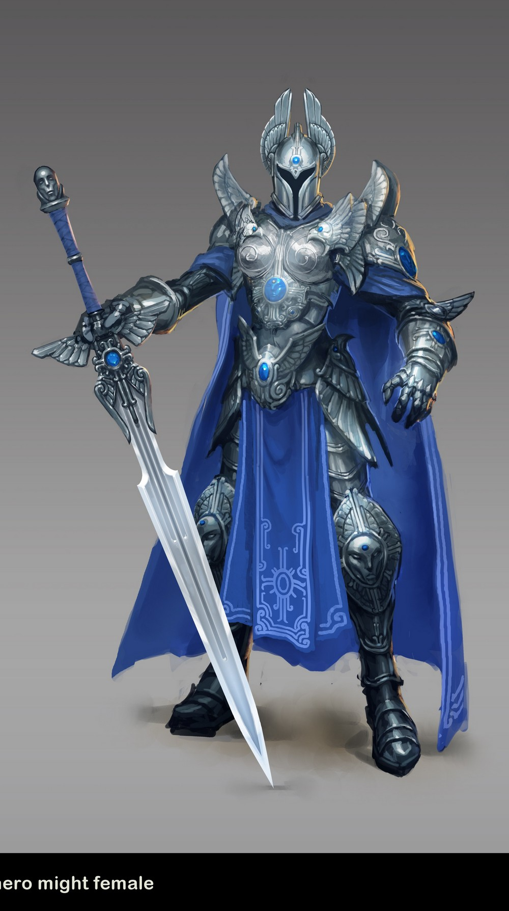 Might and Magic Heroes 6 - Haven - 01 Knight Female
