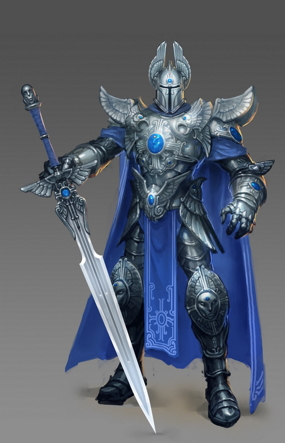 Might and Magic Heroes 6 - Haven - 01 Knight