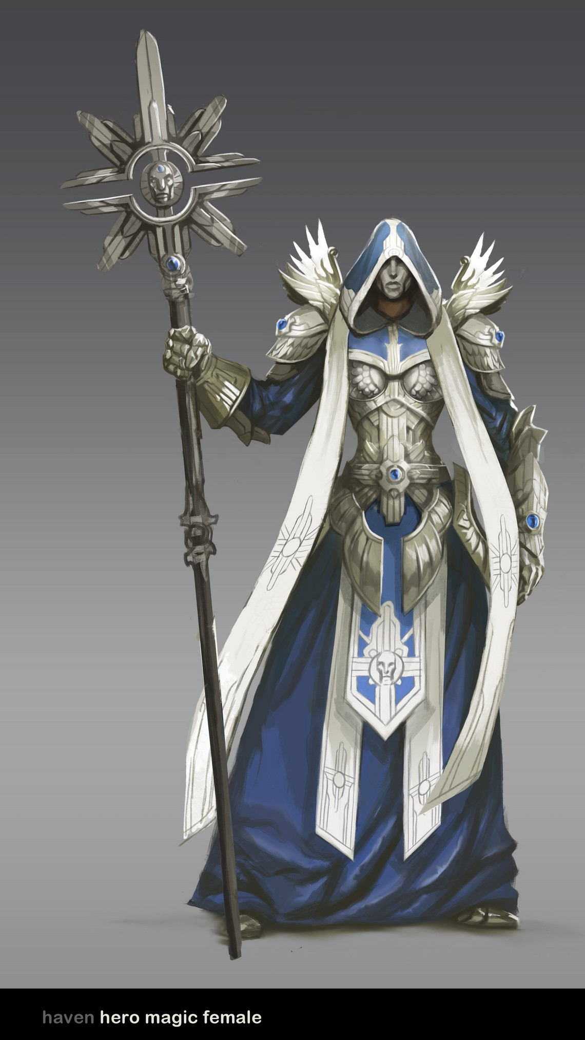 Might and Magic Heroes 6 - Haven - 04 Cleric Female