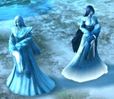 MMH6 SANCTUARY 05  Yuki-onna in game