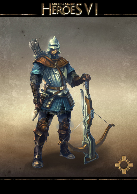 Might and Magic Heroes VI - Crossbowman