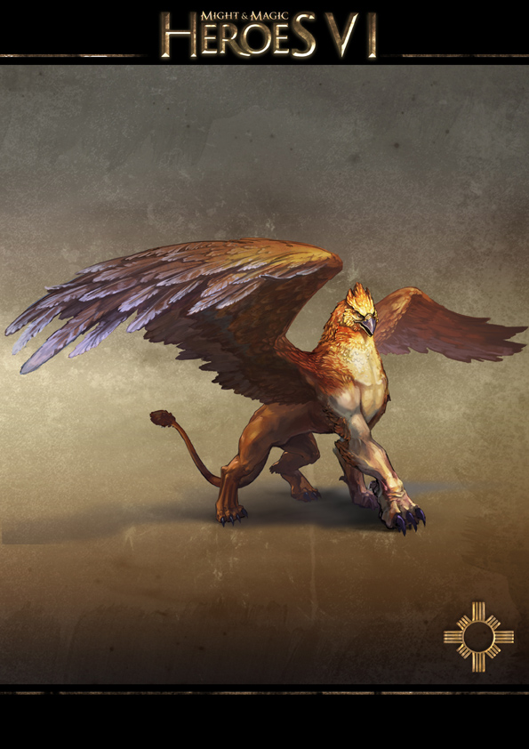 Might and Magic Heroes VI - Griffin