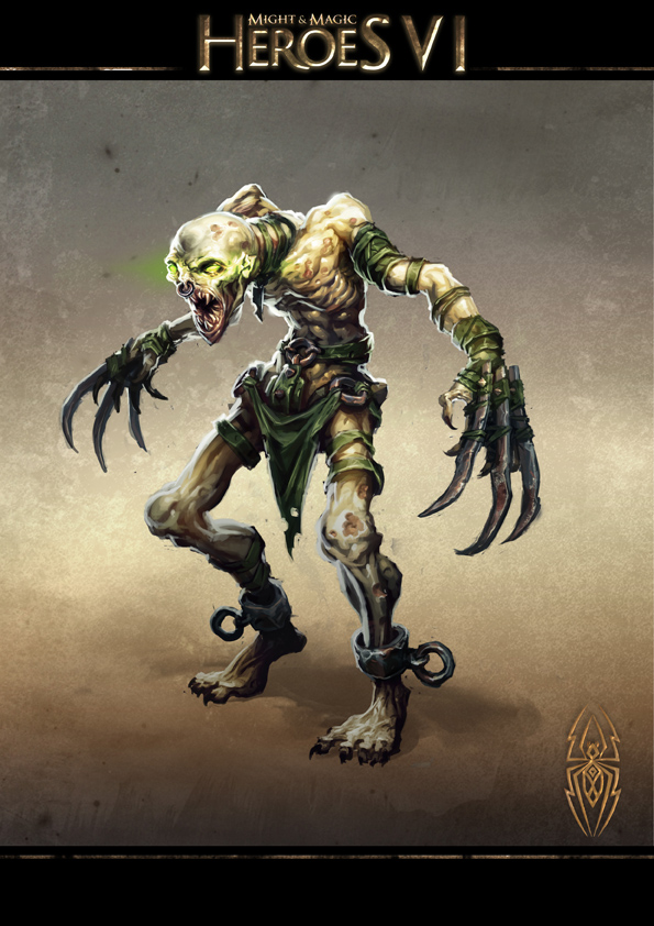 Might and Magic Heroes VI - Ghoul
