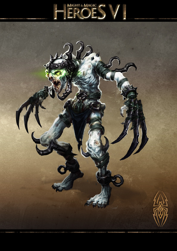 Might and Magic Heroes VI - Ravenous Ghoul