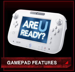 ZombiU GamePad Features