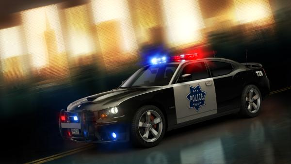110921 Dodge Charger SRT8 Cop