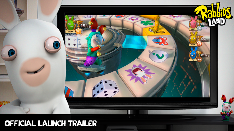 Rabbids Land Official Launch Trailer