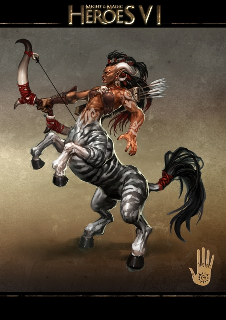 20110110 News - Stronghold Concept Art - Centaur