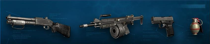 Specialist weapons []