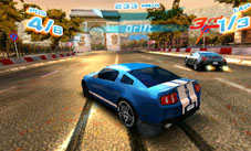 Asphalt 3DS Screenshot