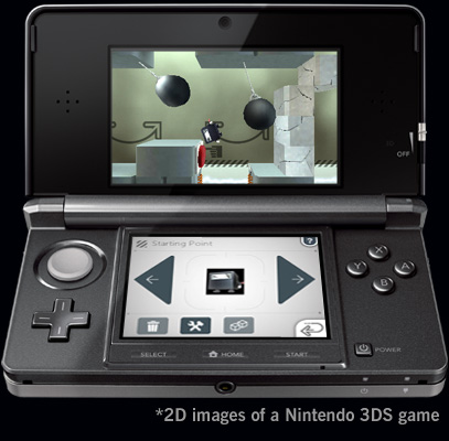 Cubic Ninja 3DS Screenshot