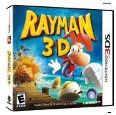 Rayman 3D Packshot
