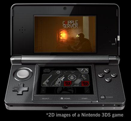 Splinter Cell 3DS Screenshot