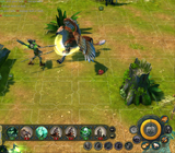 Might and Magic Heroes VI - Esqueleto in game
