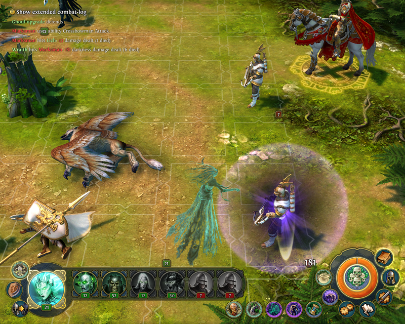 Might and Magic Heroes VI - Espectro in game
