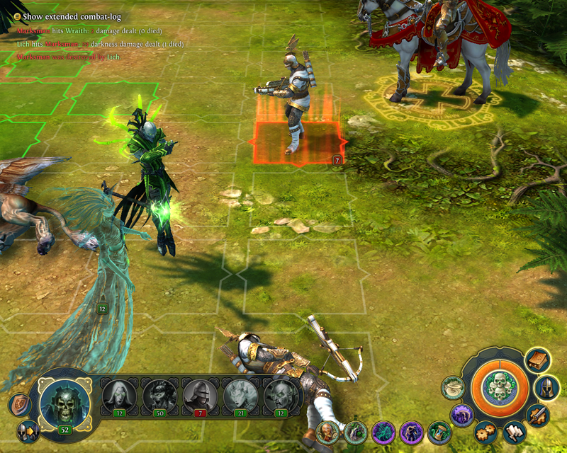 Might and Magic Heroes VI - Liche in game