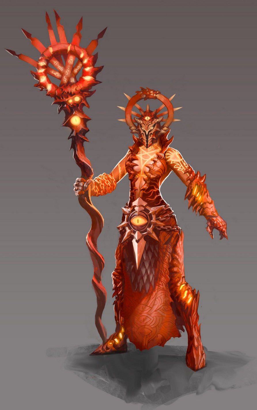 Might and Magic Heroes 6 - Inferno - 05 Dmoniste (Femme)