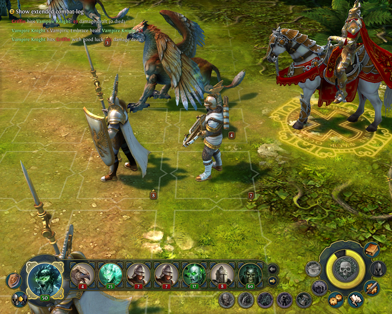 Might and Magic Heroes VI - Balestriere in game