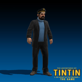 The adventures of Tintin - characters_haddock