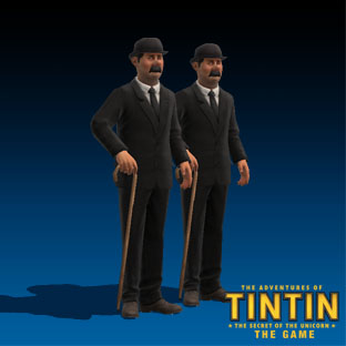 The adventures of Tintin - characters_dupond