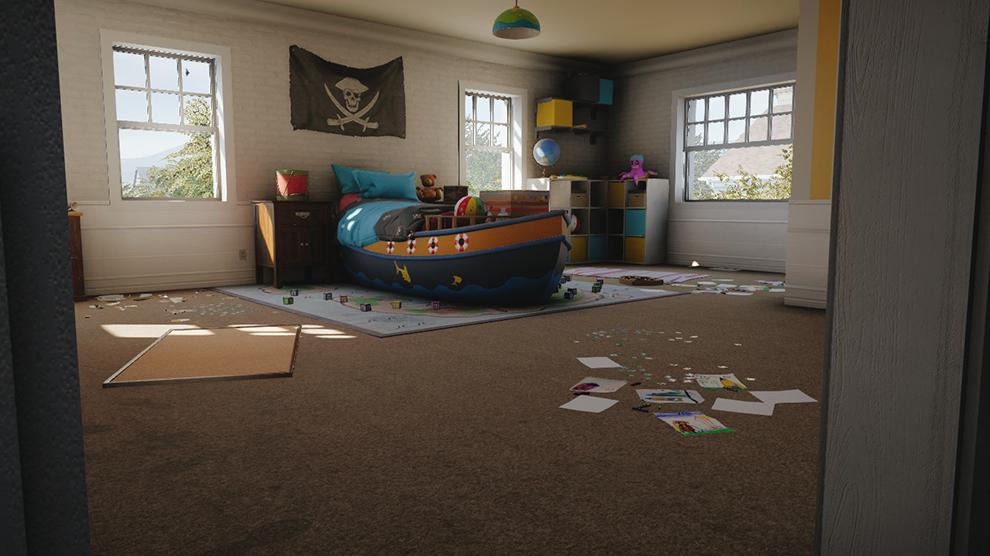 House front door open - Tom Clancy S Rainbow Six 174 Siege Haus Karte Ubisoft