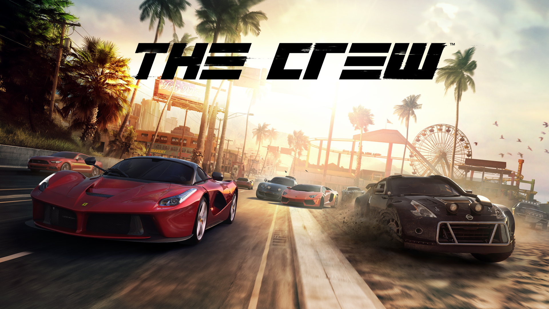 The Crew - E3 2014 Key Art