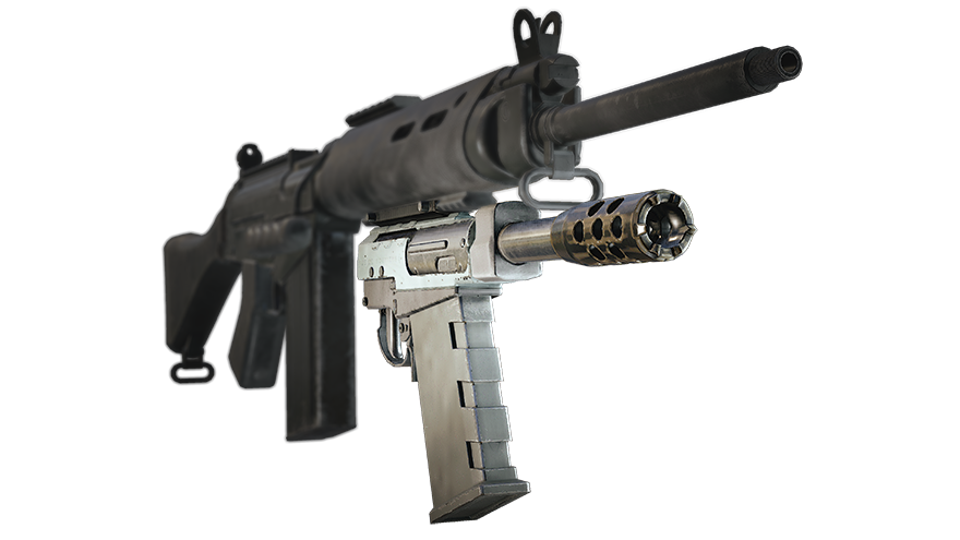 "Gadget - SK 4-12 ""Skeleton Key"" Under-barrel Shotgun"