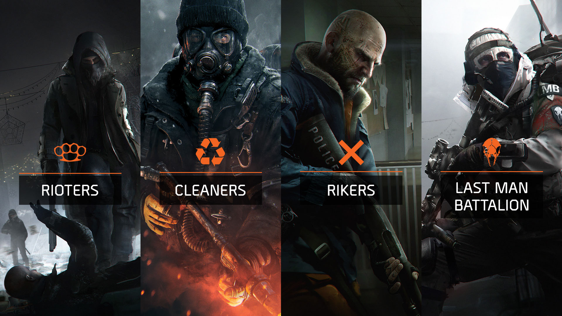 The Division's enemy faction