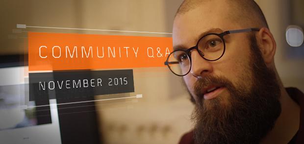 Nov 2015 - Q&A banner