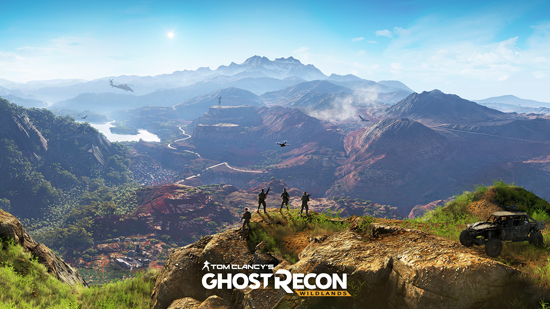 Tom clancy s ghost recon wildlands announced at e3 ghost recon