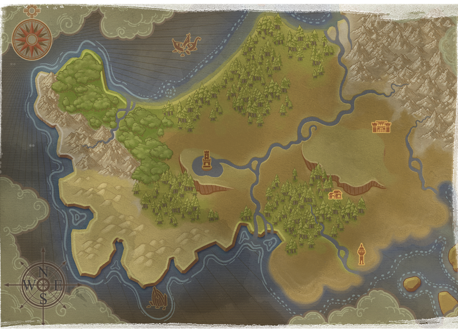 Might and Magic x Legacy - map
