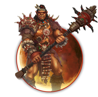Might and Magic x Legacy - Orc Barbarian