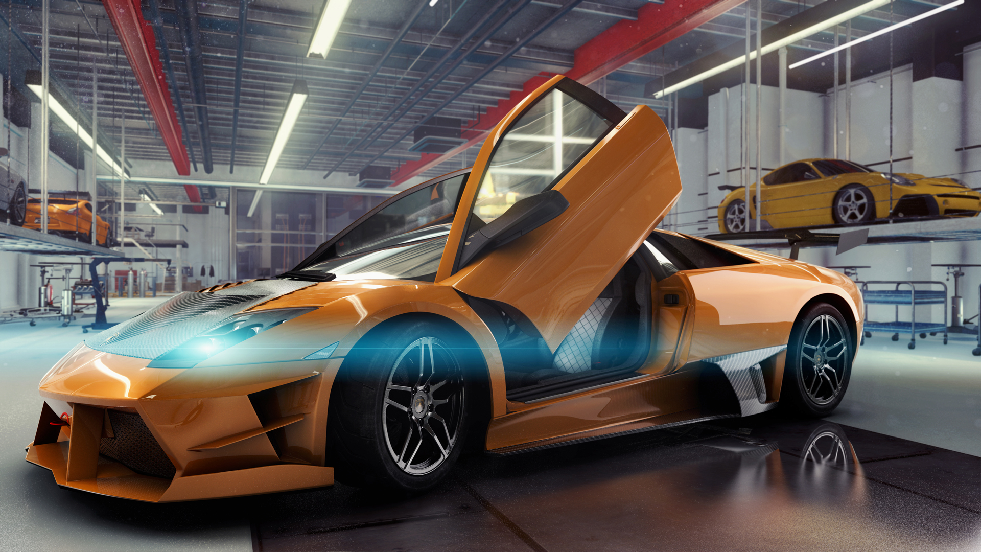 Lamborghini Official Cars And Tuning Kits The Crew