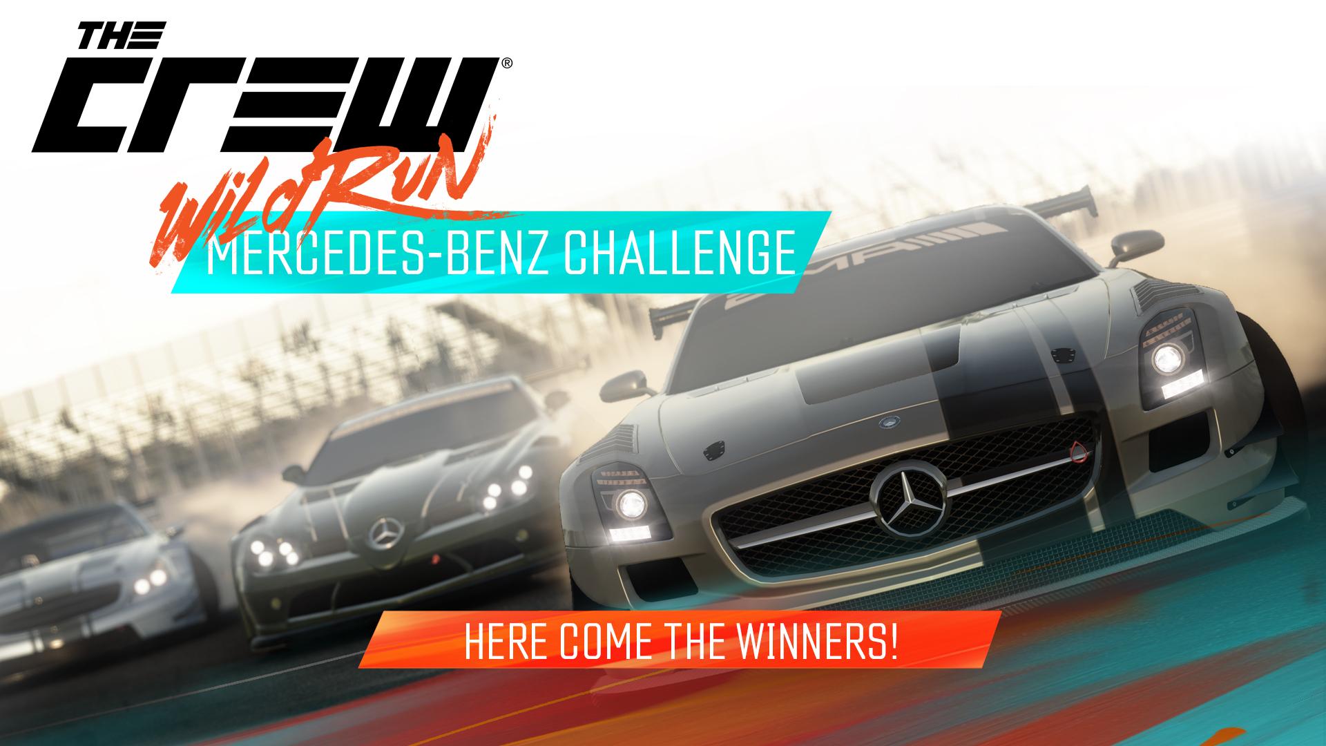 Mercedes Challenge Winners