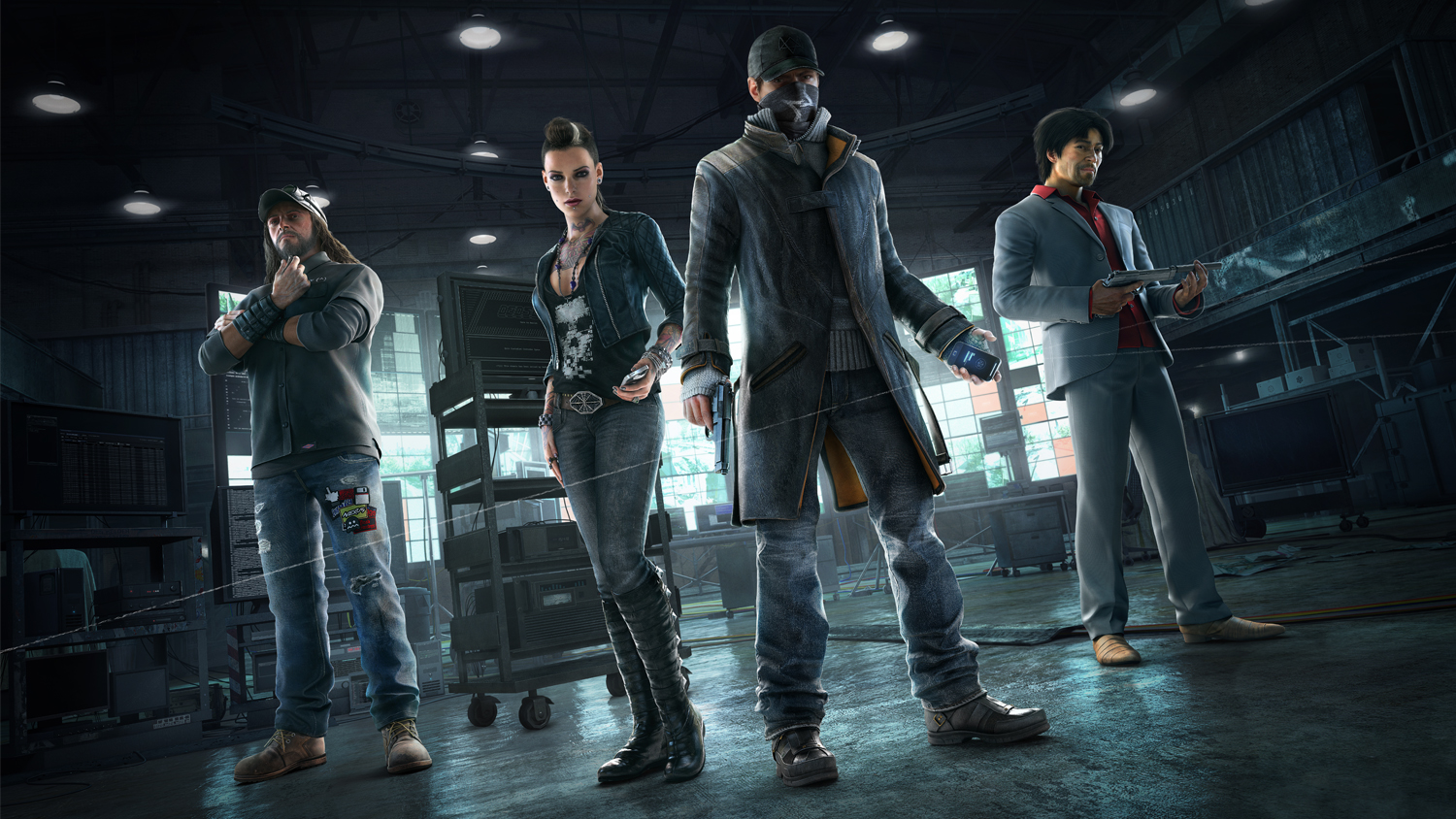 Game Watch Dogs Trailer
