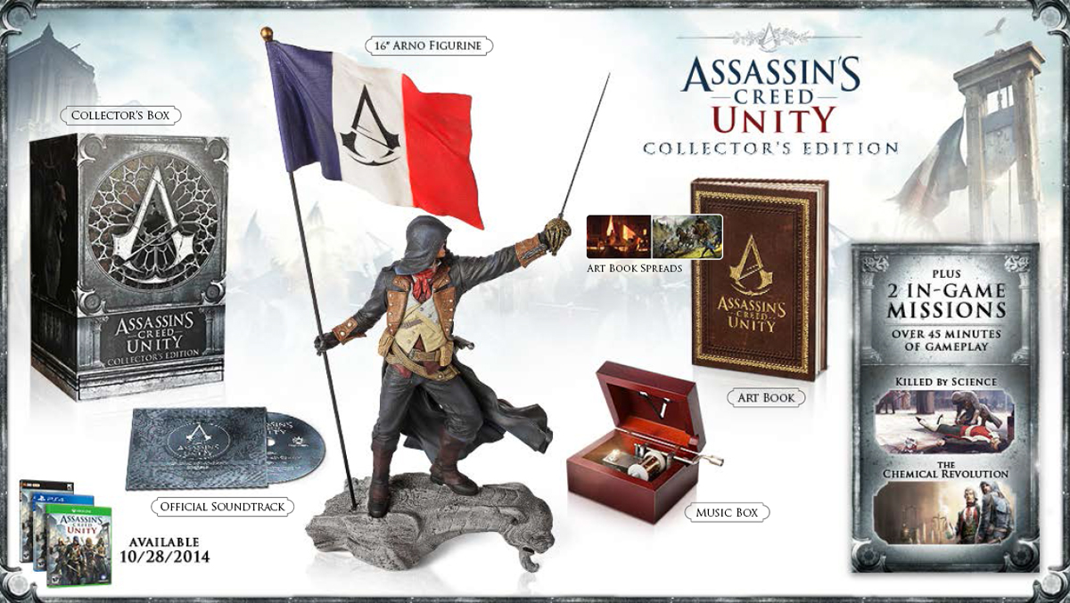 Assassin's Creed Unity Collectors Edition