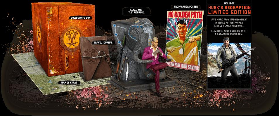 far cry 4 collectors edition