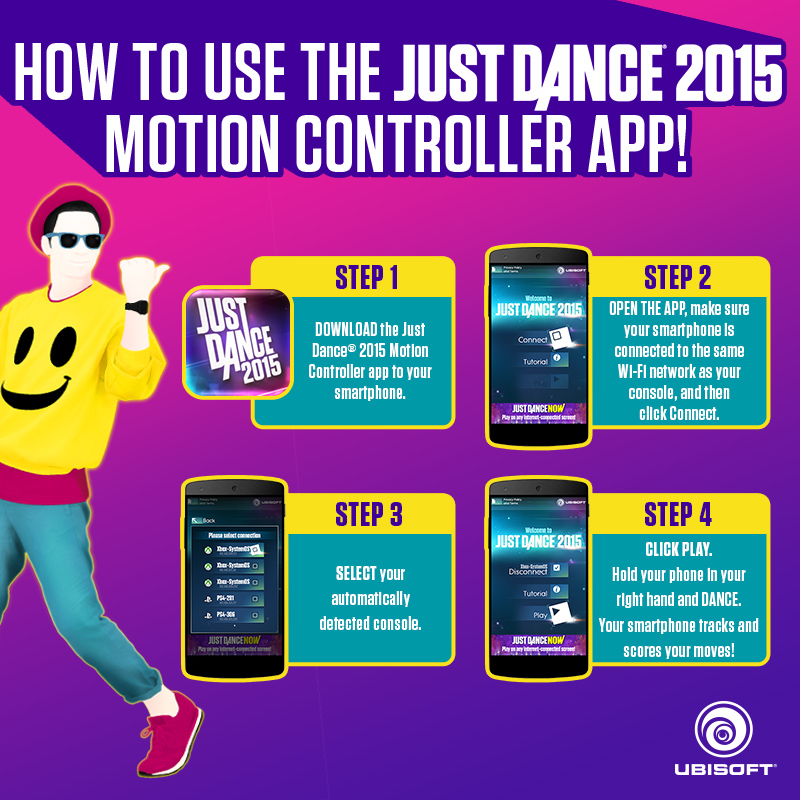 Motion Dance The Just Dance 2015 Motion