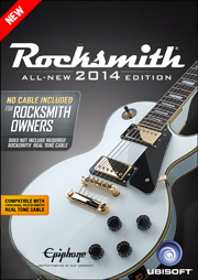 Rocksmith 2014 - No Cable Included Version
